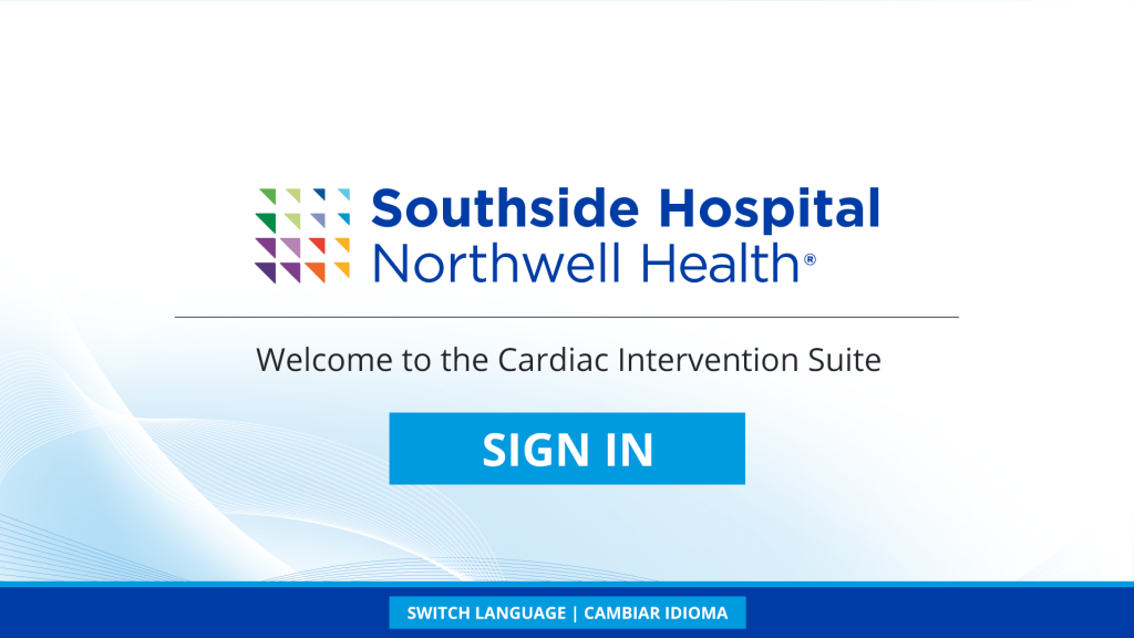 Custom Patient Self Check-In Solution Designed for Northwell Health