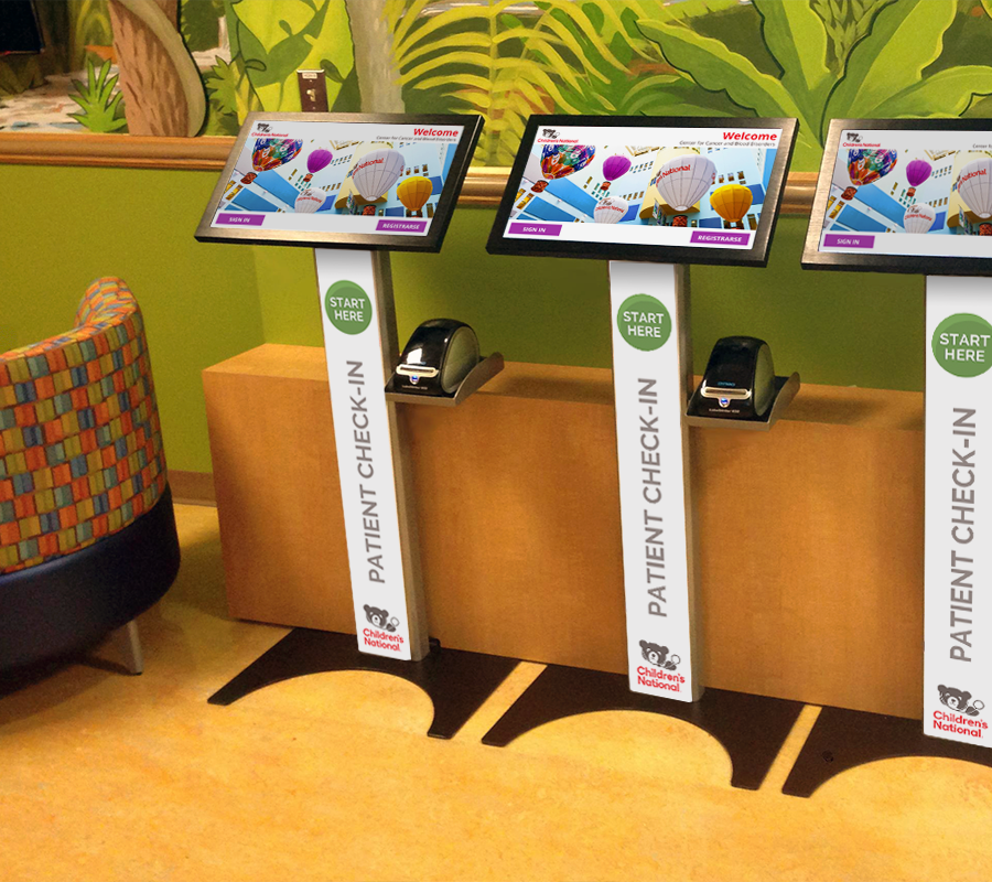 Patient Self Check-In Solution at Children's National Hospital