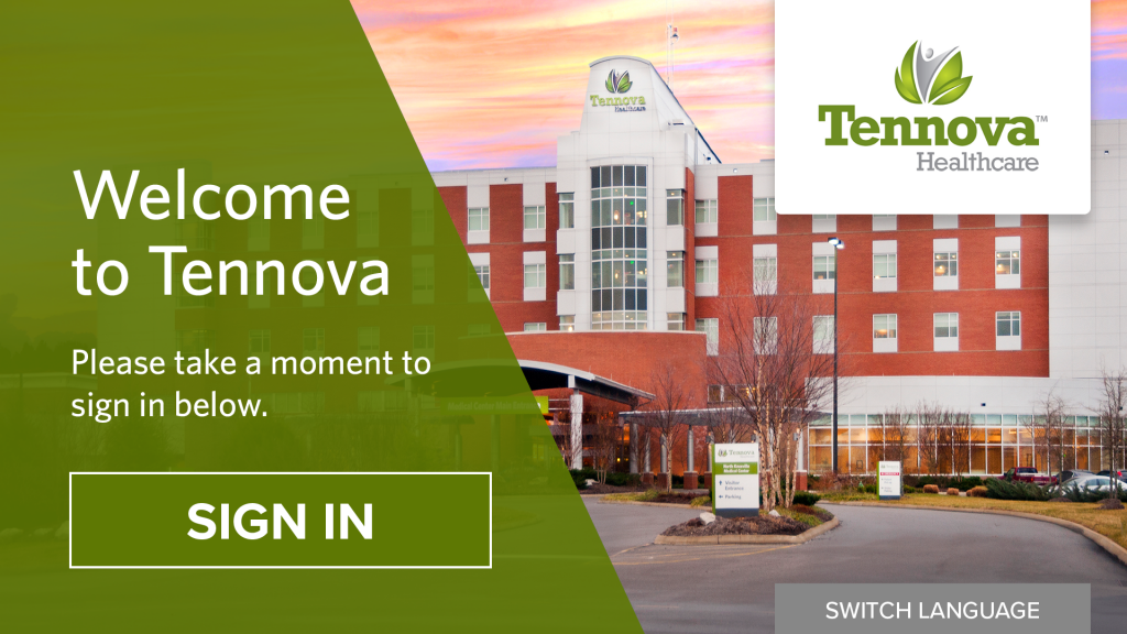 Custom Patient Check-In Solution Designed for Tennova Health